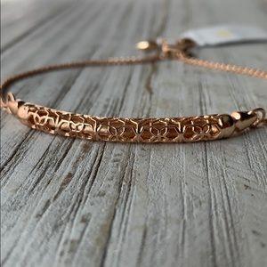 Kendra Scott Gilly Filigree Rose Gold Bracelet NEW